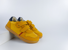 Chaussures Bobux - Kid+ - Riley Chartreuse + Navy