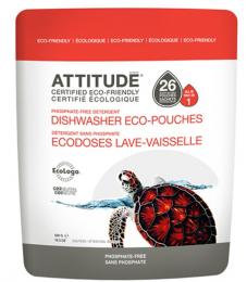 Lave-Vaisselle Sachet de 26 eco-doses - Attitude