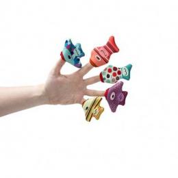 Poissons marionnettes de bain - Lilliputiens