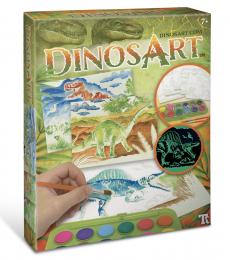 DinosArt-Aquarelle magique