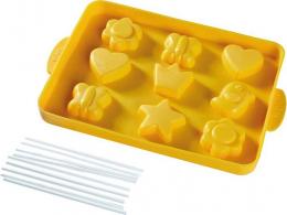 Moule en silicone pour pop-cakes De bon cœur - Haba