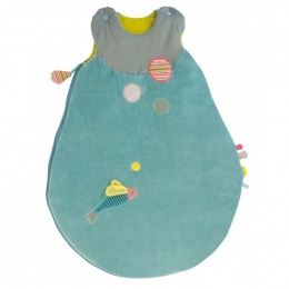 Gigoteuse Les pachats turquoise - 70 cm - Moulin Roty