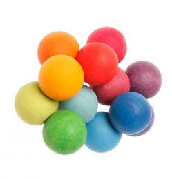 Hochet boules multicolores - Grimm's