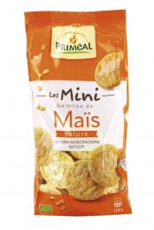 Mini galettes de maïs 150 g bio Priméal