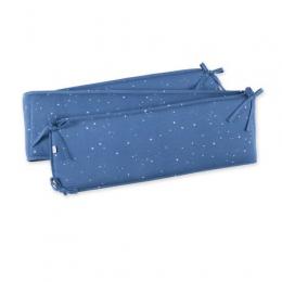 Tour de lit 20x180 Jersey étoile bleu foncé BEMINI