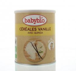 Céréales vanille et quinoa Babybio