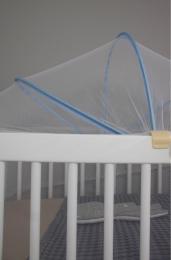 Moustiquaire pour lit/berceau bébé 60X100cm Kadolis