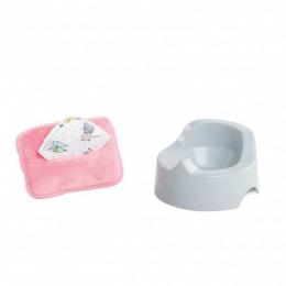Pot et Lingette pour poupon 30 cm - Corolle
