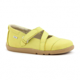 Chaussures Bobux I-Walk - Jiffy pop ballet Citron