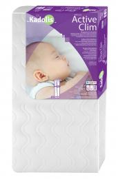 Matelas lit bébé en Tencel - 60X120 - Kadolis