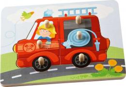 Puzzle - Les pompiers - Haba