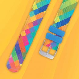 Bracelet pour montre - Arlequin - Twistiti