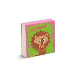 Bloc notes - Lion - Poopoopaper