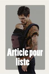 Article disponible en magasin pour Liste - PhysioCarrier - Coton Love Radius