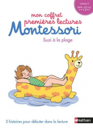 Mon coffret premières lectures Montessori - Suzi à la plage - Nathan
