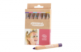 Kit 6 crayons maquillage  Mondes enchantés Namaki