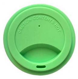 Couvercle pour gobelet en siliconne - vert - Jack n'Jill