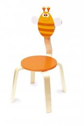 Chaise en bois - Abeille Billie - Scratch
