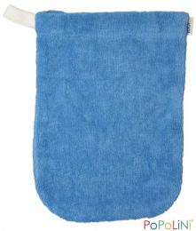 Gant de toilette bleu ciel - Popolini