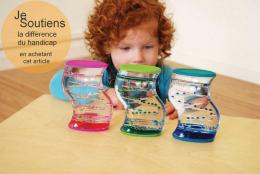 Sablier sensoriel à double couleur - TicKit