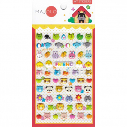 Stickers - animaux - Majolo