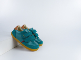 Chaussures Bobux - Step Up - Riley Slate + Caramel