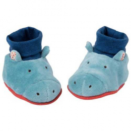 Chaussons hippopotame - Les Papoum - Moulin roty