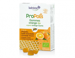 Ladrôme - Gommes Propolis Orange - 45 g