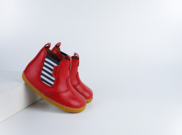 Chaussures Bobux - Step up - Jodphur Red Jester