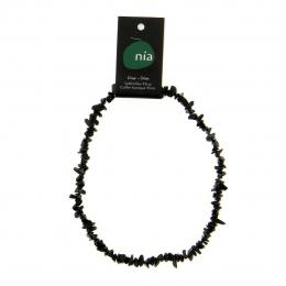 Onyx - Collier baroque de pierres protectrices perles - Nia