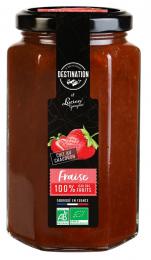 Confiture de fraises bio 300gr Lucien Georgelin
