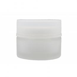 Pot en verre dépoli 50 ml  Bioflore