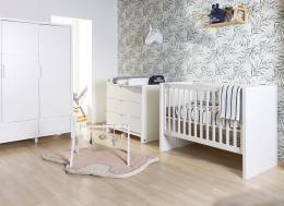 Chambre bébé complète Quadro White Childhome