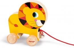 Jouet à promener Lion Janod