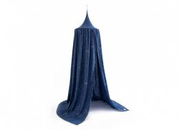 Ciel de lit Amour Stella - 250x50 - gold stella/ night blue - Nobodinoz
