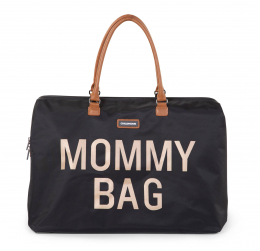Sac à langer Mommy bag Noir or Childhood