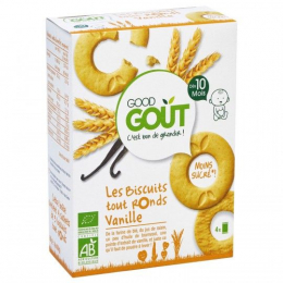 Biscuits tout Ronds Vanille BIO - GoodGout