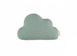 Coussin Cloud toffee sweet dots eden green Nobodinoz