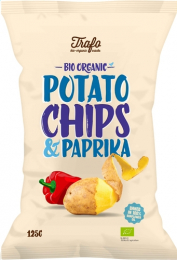 Chips BIO Paprika Trafo 125g