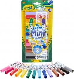 14 Mini feutres à colorier Crayola