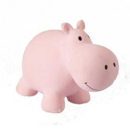 Hippopotame Mon Premier Animal du zoo en caoutchouc naturel Tikiri