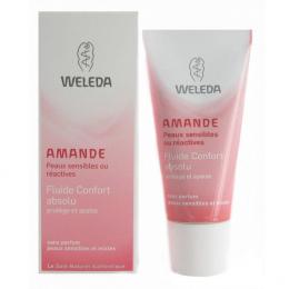 Fluide confort absolu à l'amande - Weleda