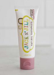Dentifrice naturel au goût fruité BIO - Framboise (raspberry) - Jack n'Jill