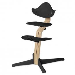 Nomi chaise haute évolutive Chêne clair et black