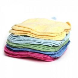 Lot de 25 lingettes lavables - Bambou Rainbow - Cheeky wipes