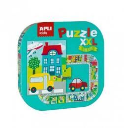 Puzzle géant XXL La ville Apli
