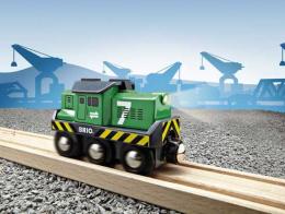 Locomotive de fret à pile - Brio