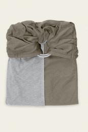 Petite écharpe sans Noeud Gris chiné Olive Love Radius JPMBB
