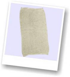 Bourette de soie - voile de protection