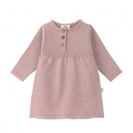 Robe Tricotée coton bio et soie Garden Explorer Rose Clair Lassig